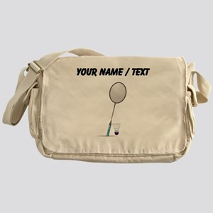 Custom Badminton Messenger Bag