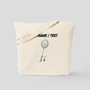 Custom Badminton Tote Bag