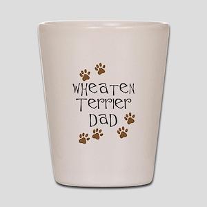 Wheaten Terrier Dad Shot Glass