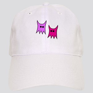 Purple and Pink Monster Ghosts Cap