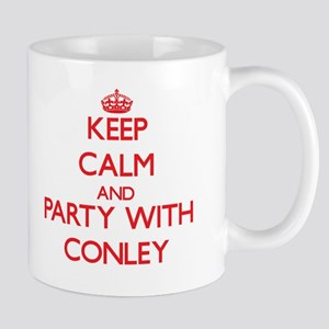 Keep calm and Party with Conley Mugs