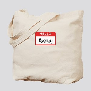 Hello Averey Tote Bag