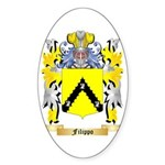 Filippo Sticker (Oval 50 pk)