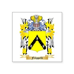 Filippelli Square Sticker 3