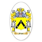 Filipic Sticker (Oval 50 pk)