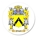 Filipek Round Car Magnet