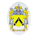 Filip Ornament (Oval)
