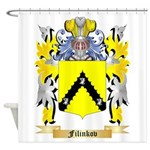 Filinkov Shower Curtain