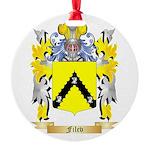 Filev Round Ornament