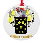 Files Round Ornament