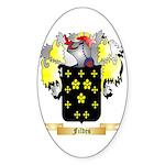 Fildes Sticker (Oval 50 pk)