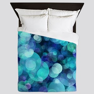 Bubbles 004 Queen Duvet