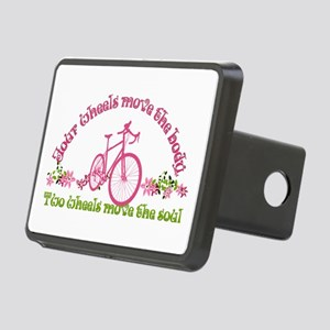 Two wheels move the soul Hitch Cover