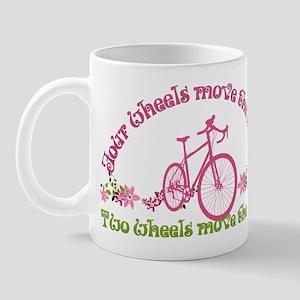 Two Wheels Move The Soul Mug