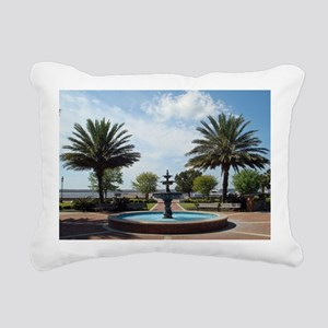 St. Marys Georgia Riverf Rectangular Canvas Pillow
