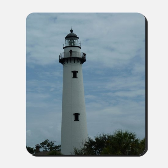 St. Simons Island Georgia Lighthouse 1 Mousepad