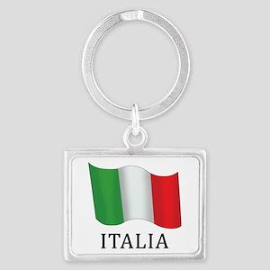 Italia Flag Keychains