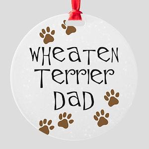 Wheaten Terrier Dad Ornament