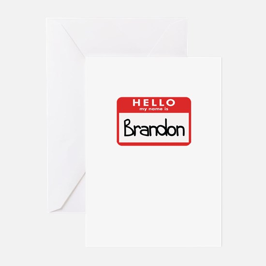 Hello Brandon Greeting Cards (Pk of 10)