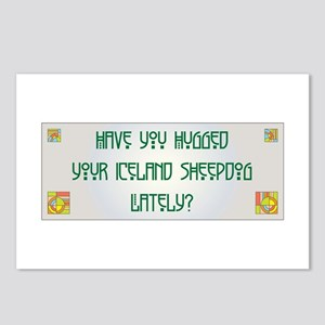 Hugged Sheepdog Postcards (Package of 8)