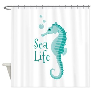 Marine Life Shower Curtains