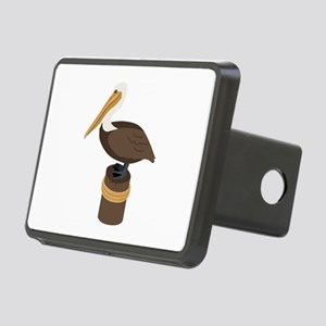 Brown Pelican Hitch Cover