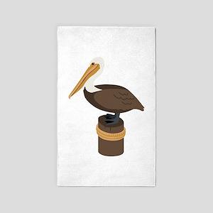 Brown Pelican 3'x5' Area Rug