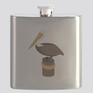 Brown Pelican Flask