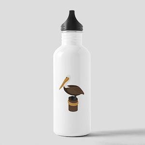 Brown Pelican Water Bottle
