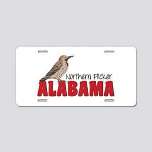 Northern Flicker Alabama Aluminum License Plate