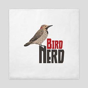 Bird Nerd Queen Duvet