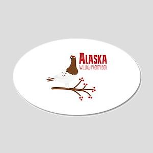 Alaska Willow Wall Decal