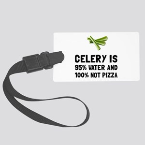 Celery Not Pizza Luggage Tag