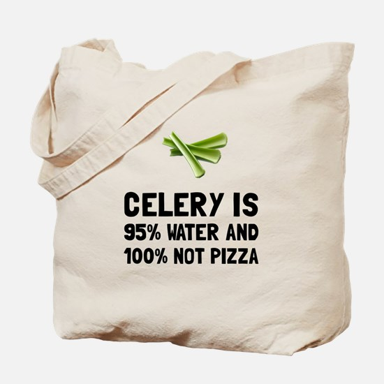 Celery Not Pizza Tote Bag