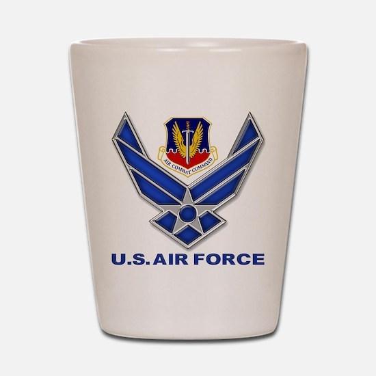Air Combat Command Shot Glass