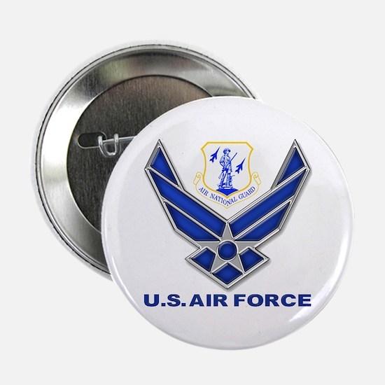 """Air National Guard 2.25"""" Button"""