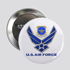 "Air Mobility Command 2.25"" Button"