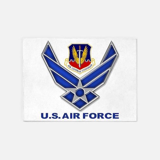 Air Combat Command 5'x7'Area Rug