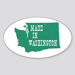 Washington Sticker (Oval)