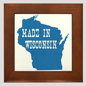 Wisconsin Framed Tile