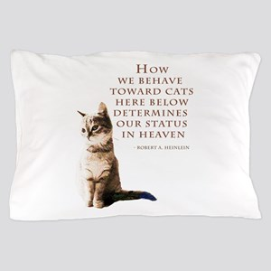 cats-and-heaven-card Pillow Case
