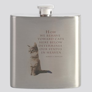 cats-and-heaven-card Flask