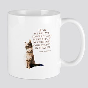 cats-and-heaven-card Mugs