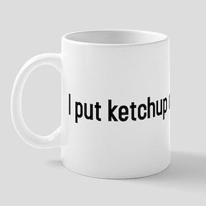 3-ketchuponketchup Mugs