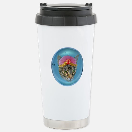 Fortune Cat Stainless Steel Travel Mug