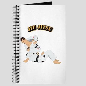 Jiu Jitsu Fighter With Text Journal