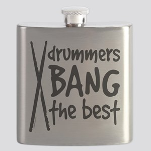 Drummers Bang the Best Flask