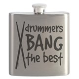 Bang a drummer Flask Bottles