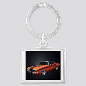 Classic Car 234 Landscape Keychain
