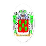 Figuerola Oval Car Magnet